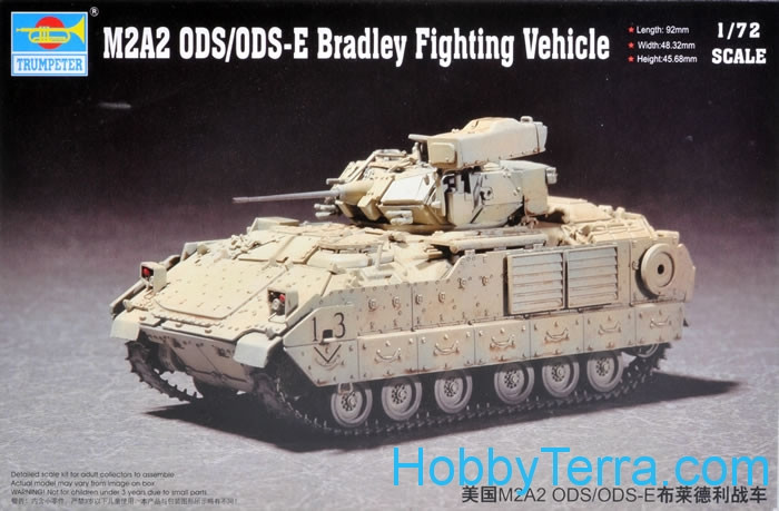 Trumpeter  07297 M2A2 ODS/ODS-E Bradley Fighting Vehicle