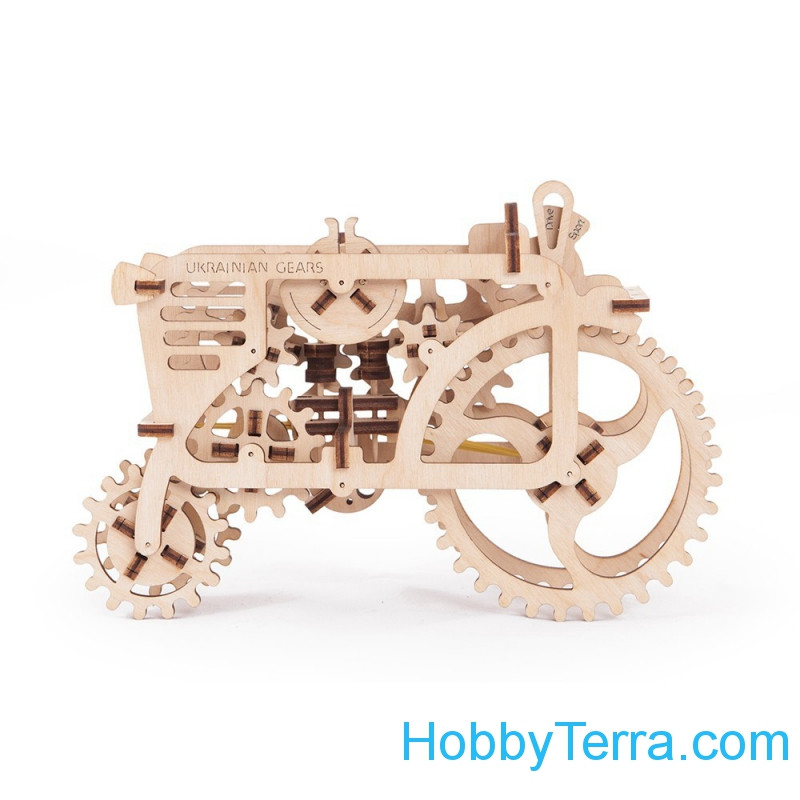 "Mechanical 3D-puzzle ""Tractor"""