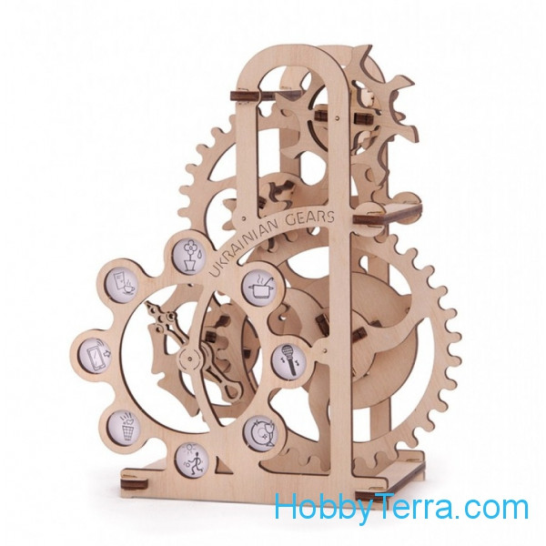 "Mechanical 3D-puzzle ""Power-meters"""