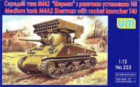 Tank M4A2 with T40 rocket launcher