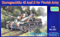 Sturmgeschutz 40 Ausf.G for Finnish Army