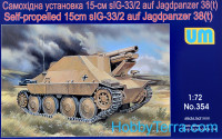 Hetzer sIG-33/2 WWII German self-propelled gun