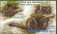 3' field (ex russian) gun, 1902 (late)