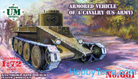 U.S. armored vehicle of a cavalry