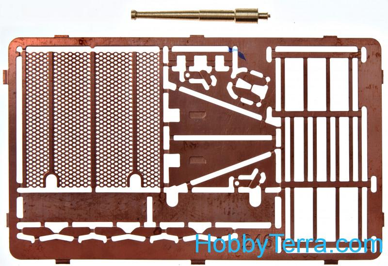 HSP FRONT BODY POST 81601 1//8 SCALE BAZOOKA TORNADO METALLIC YELLOW