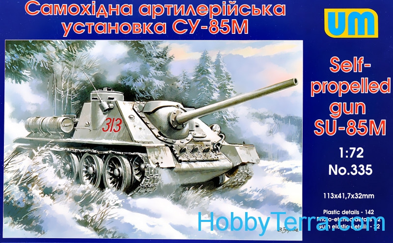 UM  335 SU-85M WW2 Soviet self-propelled gun