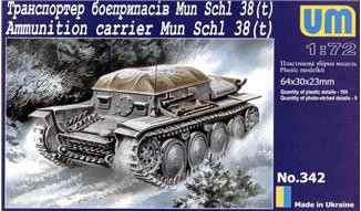 Mun Schl 38(t) WWII German ammunition carrier