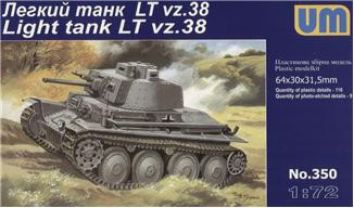 UM  350 Praga LT vz.38 WWII German light tank