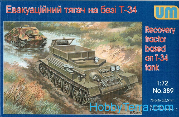 Recovery tractor on T-34 basis