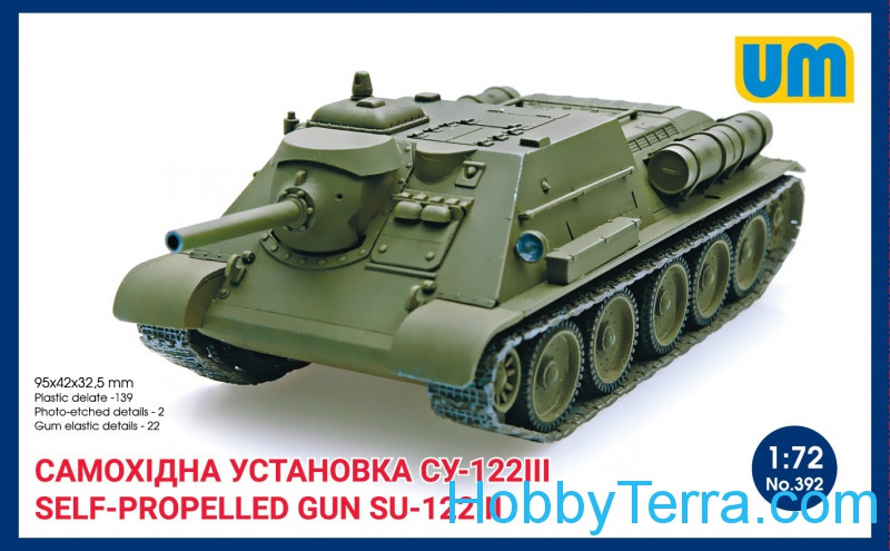 UM  392 Self-propelled artillery gun SU-122