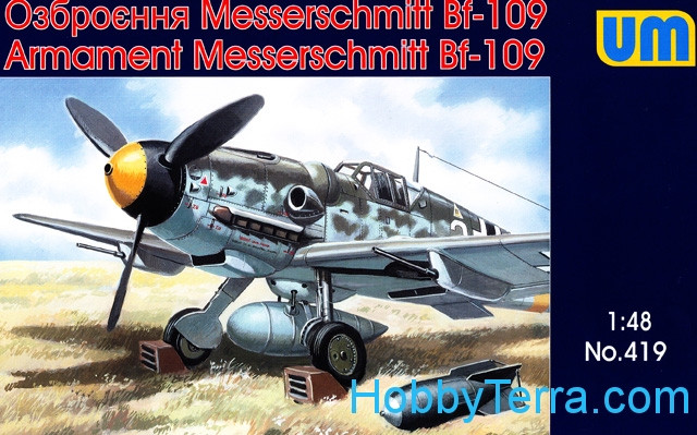 Me-109 air weapons and equipment