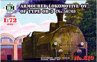 Armored locomotive OV of type OB-3 (No.5676)