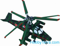 "Helicopter ""Bear"", paper model"