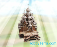 Church of the Transfiguration, paper model