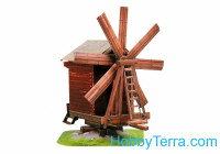 Windmill, paper model
