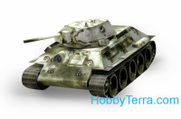 Tank T-34 mod. 1941 (winter) paper model (Snap fit)