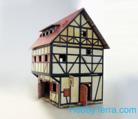 "Game Set. ""Medieval City"" - Tavern, paper model"