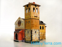 Medieval town: Chapel, paper model