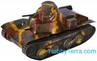 "Tank Type 95 ""HA-GO"" 1936-1943 paper model (Snap fit)"