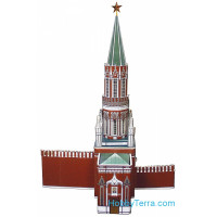 Tower of the Moscow Kremlin, paper model