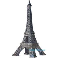 Eiffel Tower (silver) paper model (Snap fit)