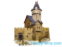 "Game Set. ""Medieval City"" - Hunting Lodge, paper model"