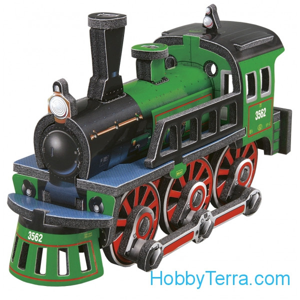 Umbum  125 Locomotive, paper puzzle