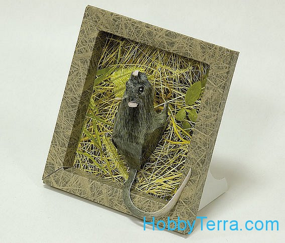 "Collectible frame ""mouse"""