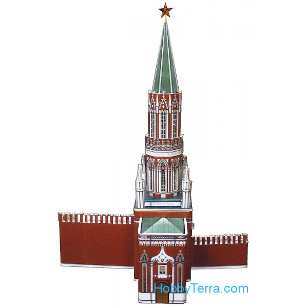 Umbum  254 Tower of the Moscow Kremlin, paper model