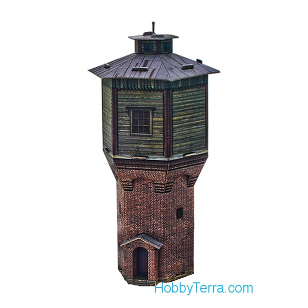 Water Tower, paper model
