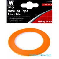 Masking tape 1mm x 18m, 2 pcs