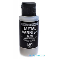 Gloss metal varnish, 60ml