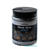 Industrial thick mud, 200ml