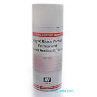 Acrylic gloss varnish permanent, 400ml (aerosol)
