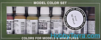 "Model Color Set ""Building"", 8 pcs"
