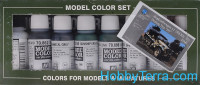 "Model Color Set ""Demag D-7 Africa Corps"", 8pcs"