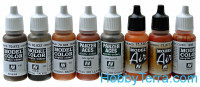 "Model Color Set ""Staining, rust and streaking"", 8x17ml"