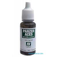 Panzer Aces 17ml. Dark rust