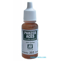 Panzer Aces 17ml. Yellowish Rust