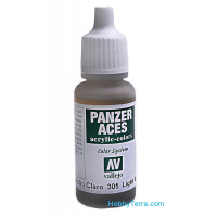 Panzer Aces 17ml. Light Rubber