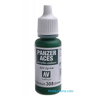 Panzer Aces 17ml. Green Tail Light