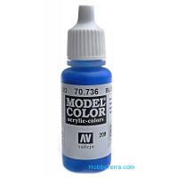 Model Color 17ml. 209-Blue Fluorescent