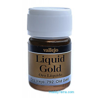 Metallic Model Color 35ml. Old gold (alcohol based)