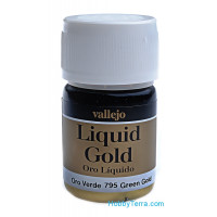 Metallic Model Color 35ml. Green gold (alcohol based)