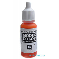 Model Color 17ml. 130-Amaranta red