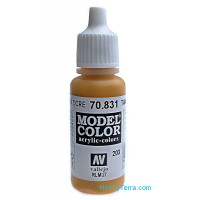 Model Color 17ml. 203-Tan Glaze