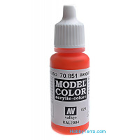 Model Color 17ml. 024-Bright orange