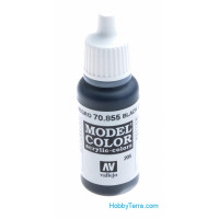 Model Color 17ml. 855-Black Glaze