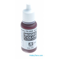 Model Color 17ml. 035-Black red