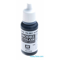 Model Color 17ml. 170-Gloss black